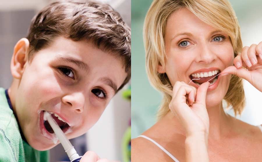 Teeth and Gums Care at Home